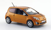 Renault Twingo miniature gt orange 2007