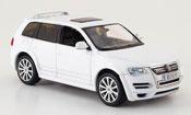 Volkswagen Touareg   r50 white 2008 Norev
