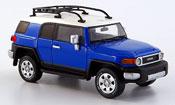 Toyota FJ Cruiser blue 2006