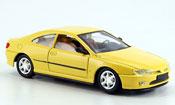 Peugeot 406 miniature coupe jaune