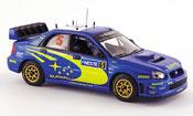 Subaru Impreza WRC  no.5 rallye finlande 2005 IXO 1/43