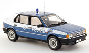 Alfa Romeo 33 miniature police squadra volante 1985