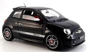 Fiat 500 Abarth  noire 2008 Mondo Motors