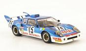 Maserati Ligier js2 no.15 laffite serpaggi 24h le mans 1974