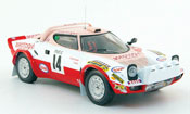 Lancia Stratos Rallye  hf no.14 aseptogyl rallye monte carlo 1977 IXO 1/43