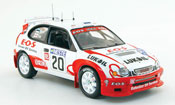 Toyota Corolla miniature wrc no.20 lukoil e.o.s. rallye finland 2000