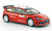Citroen C4 WRC 2008 no.2 elfter rally monte carlo
