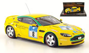 Aston Martin V8 miniature Vantage n24 no.8 team mathai 24h nurburgring 2008