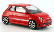 Fiat 500 New Abarth red 2007