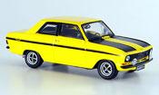 Opel Kadett B  sport jaune noire Schuco