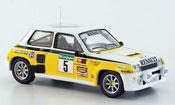 Renault 5 Turbo  no.5 rallye el corte ingles 1985 MCW 1/43