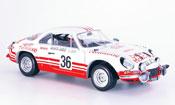 Renault Alpine Solido A110 no.36 rallye monte carlo 1973