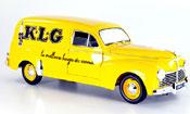 Peugeot 203 Solido Fourgonette kombi klg jaune 1954