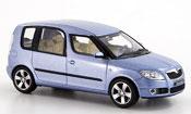 Skoda Roomster miniature grise metallisee  bleu 2006