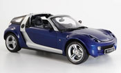 Smart Roadster coupe blu 2003