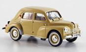 Renault 4CV miniature sport r 1062 beige 1958