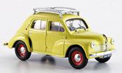 Renault 4CV miniature r 1060 avec barres de toit 1947