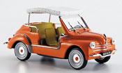 Renault 4CV miniature ghia jolly 1961