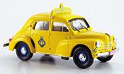 Renault 4CV miniature touring secours belgien 1958