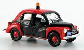 Renault 4CV miniature police r1062 1956