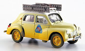 Renault 4CV miniature rallye mediteranee 1950