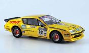 Renault Alpine A310 miniature v6 no.201 eq. jaronn lawson 2007
