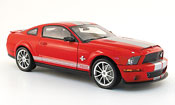 Shelby GT 500 kr red avec bands grays 2008