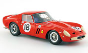 Ferrari 250 GTO  no.18 siger daytona continental 1963 Red Line 1/43