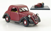 Fiat 500   A Topolino  red black 1936 Brumm