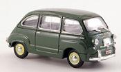 Fiat 600   D Multipla Polizia Stradale police 1960 Brumm