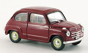 Fiat 600   Polizia Stradale police 1955 Brumm