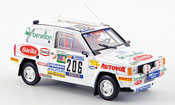 Fiat Panda   4X4 No.206 Rally Paris Dakar 1984 Brumm
