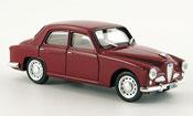 Alfa Romeo 1900   berline  rouge 1950 Brumm