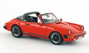 Porsche 911 Targa Carrera Targa rosso USA Version 1985
