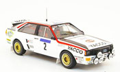Miniature Tour de France Audi Quattro No.2 Yacco Tour de France Auto 1984