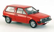 Volkswagen Polo ii red