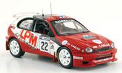 Toyota Corolla   wrc no.22 rallye finland 2000 IXO 1/43