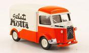 Citroen Type HY miniature kastenwagen gelati motta 1962