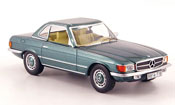 Mercedes 350 miniature SL (R107) Hard Top verte 1972