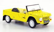 Citroen Mehari   plage jaune 1983 IXO 1/43