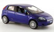 Fiat Punto miniature Grande bleu funfturig 2005
