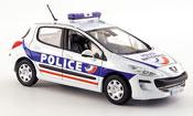 Peugeot 308 miniature police funfportes police 2008