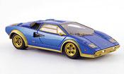 Lamborghini Countach LP 500 s walterwolf blue mattor