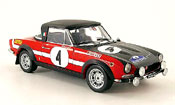Fiat 124 Abarth no.4 rally grece 1972