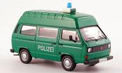 Volkswagen Combi   t 3 a hochraumbus police verte blanche Premium Cls