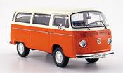Volkswagen Combi t 2 b bus l arancione bianco