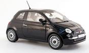 Fiat 500 black mit green-white-redem streifen 2007