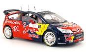 Citroen C4 WRC miniature no.1 red bull s.loeb tour de corse 2008