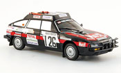 Citroen CX miniature 2400 gti no.126 rallye dakar 1981