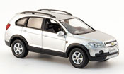Chevrolet Captiva miniature grise metallisee 2006